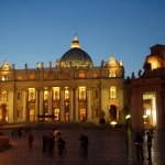 Sankt Peter bei Nacht