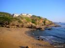 Strand von Noesala, Blick nach Porto Alabe
