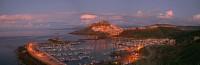 Sardinien, Castelsardo im Abendlicht