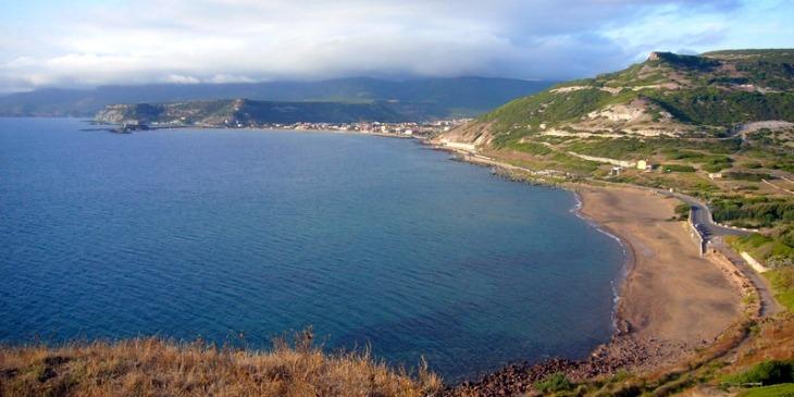Strand von Turas, nahe Bosa
