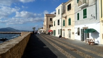 Bastioni in Alghero
