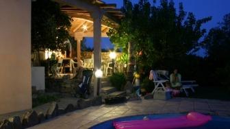 Mirte, Ferienhaus mit Garten und Pool