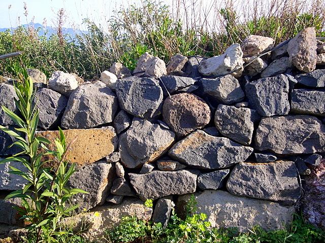 stazzu Sardinien_Steinmauer