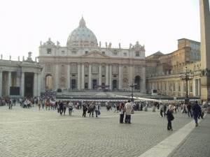 Vatikan, Petersplatz, Rom-Fotos
