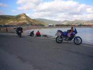 Mit dem Motorrad entlang der Westküste Sardiniens- ein Traum! Fotos Sigrid Hering