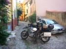 sardinien-bosa-mit motorrad