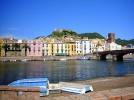 Bosa, am Temo, Sardinien