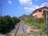 Bosa-Marina, Sardinien, Schmalspurbahn