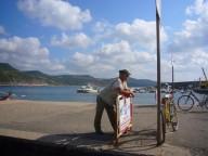 Bosa Marina hat auch einen kleinen Yachthafen