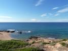 porto alabe richtung spiaggia la marinedda, torre di columbargia