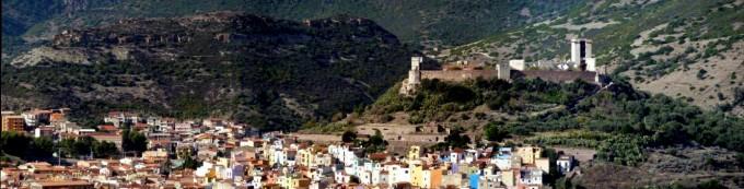 Sardinien, Bosa, mit Castello Malaspina