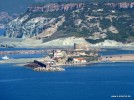 Sardinien, Sa Lumenera, Blick nach Bosa Marina, torre