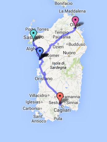 Karte Sardinien Süden.Fragen Und Antworten Zum Urlaub In Bosa Westküste O Solemio