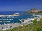 Sardinien, Castelsardo und Umgebung, der Hafen