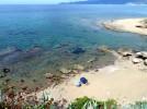 Sardinien, Porto Alabe, am Strand