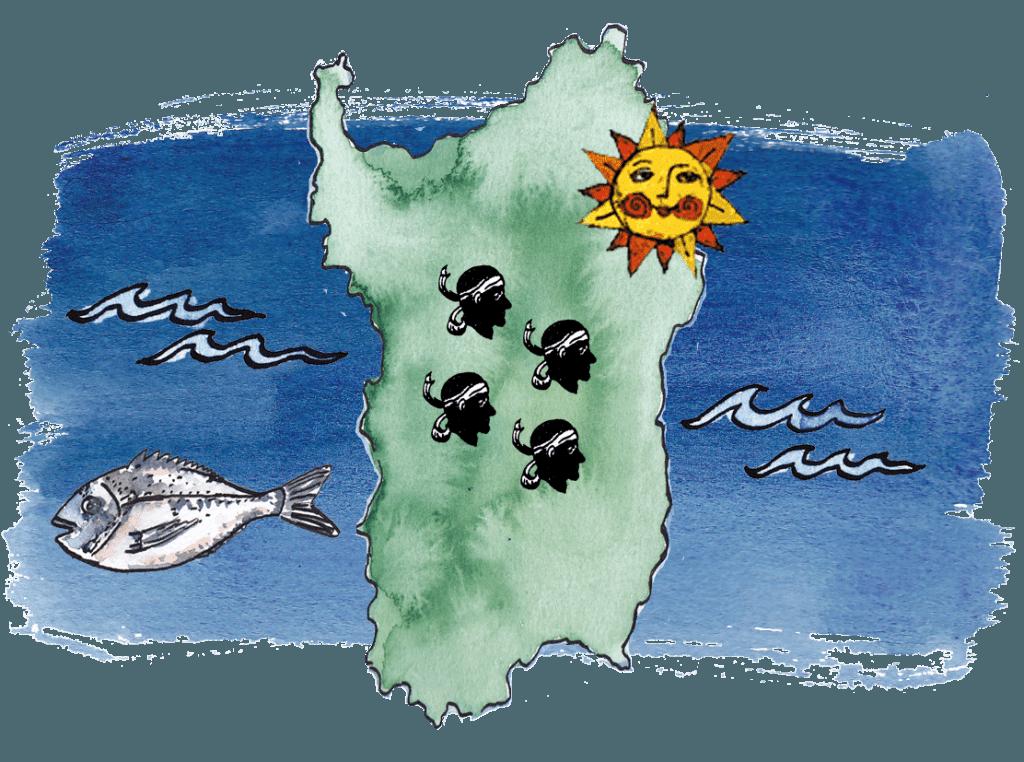 insel, Ferienhaus auf Sardinien
