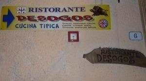 Italien, Sardinien, Westen, Cuglieri,Trattoria Desogos