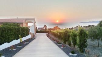 Landhaus mit Meerblick