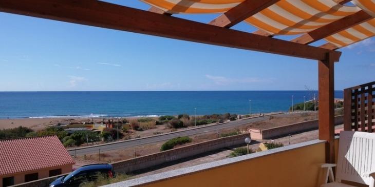 Balkon mit Meerblick, Ferienwohnungen