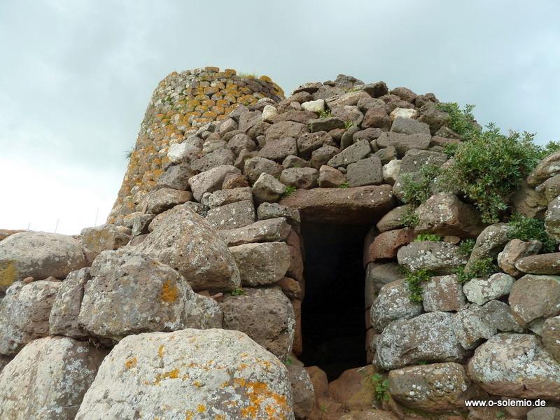 Nuraghe auf Sardinien, nahe Suni