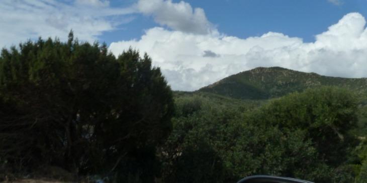 Entfernungen auf Sardinien