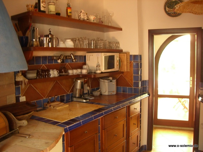 Küche In Der Villa Rena Majore