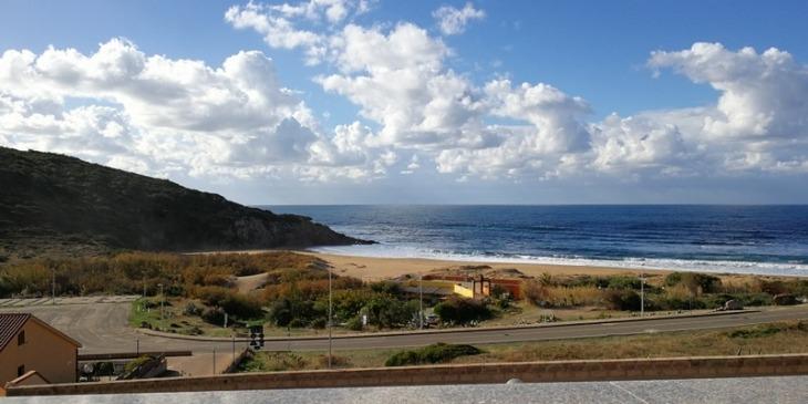 Aquamare in Porto Alabe mit Meerblick, Urlaub im Fischerhaus