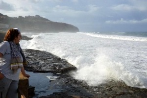 Wildes Meer bei Bosa Marina