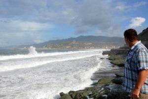 Wildes Meer bei Bosa Marina am Meer