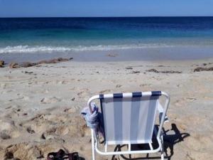 Am Strand von Is Arrutas