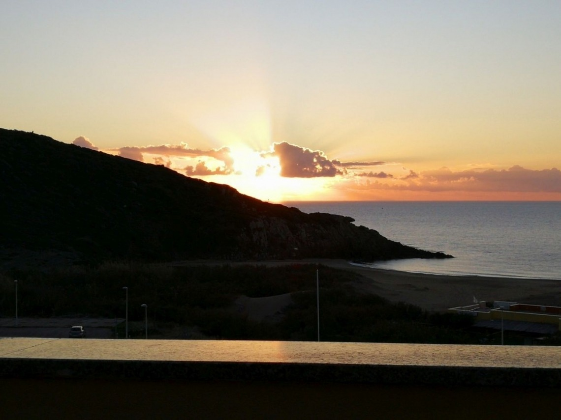 Ferienwohnung Aquamare, Blick vom Balkon