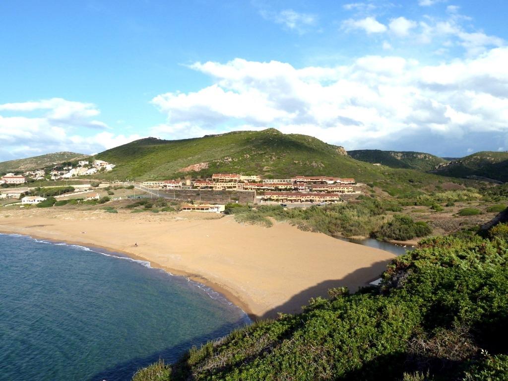 Ferienhaus in Sardinien, Aquamare am Strand von Porto Alabe