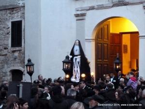 Osterprozzesion, Pasqua ad Alghero