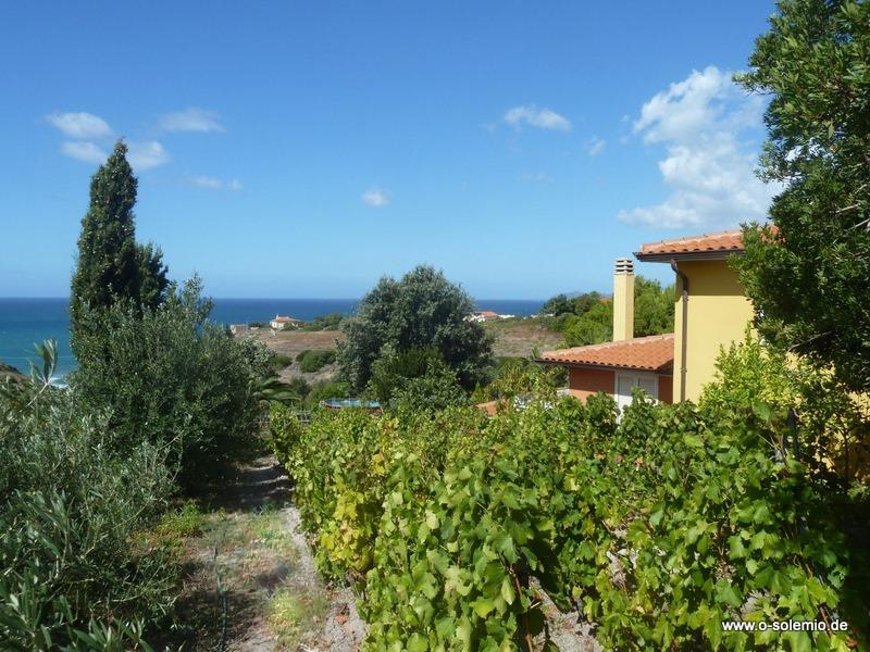 Ferienhaus in Sardinien, Landhaus Villa Nunzia, mit Pool und Meerblick