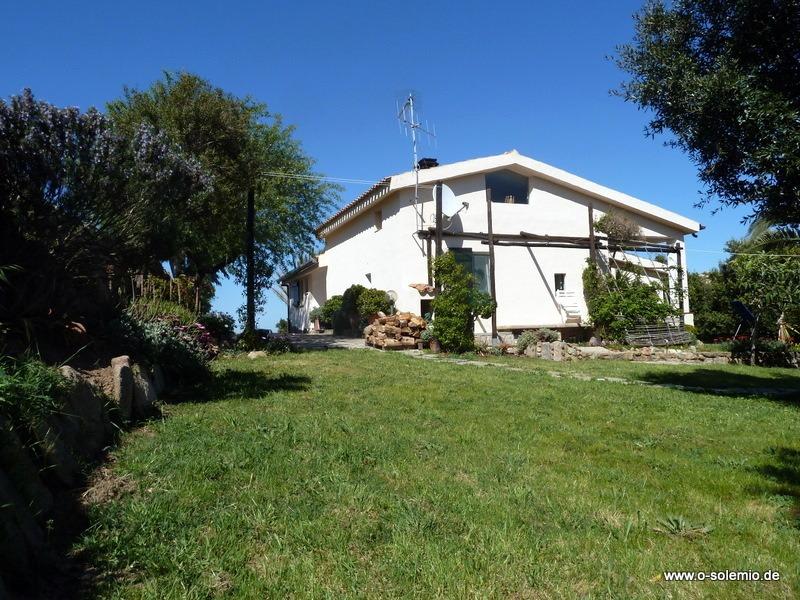 Ferienhaus in Sardinien, Gallura, Villa Maddalena, Garten