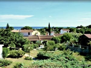 Blick von der Dachterrasse, Ferienhaus Camboni, Costa Rei