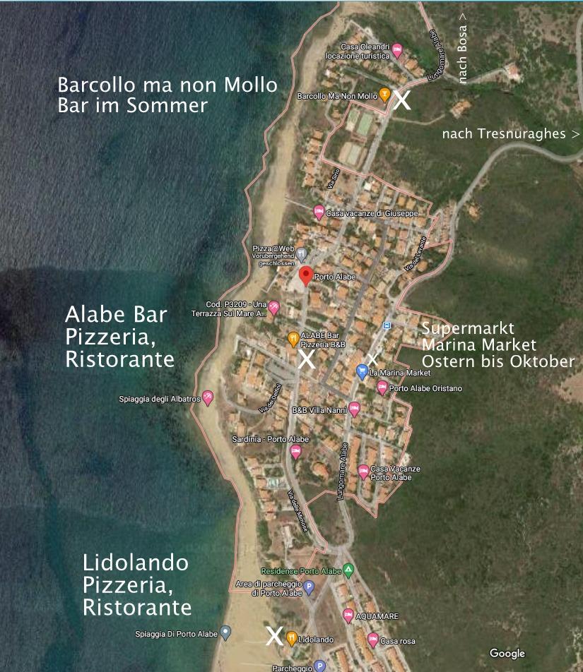 Tipps zum Essen gehen in Porto Alabe