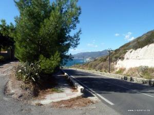 Sardinien_Einfahrt Hotel Sa Lumenera, Tipps zum Essen gehen