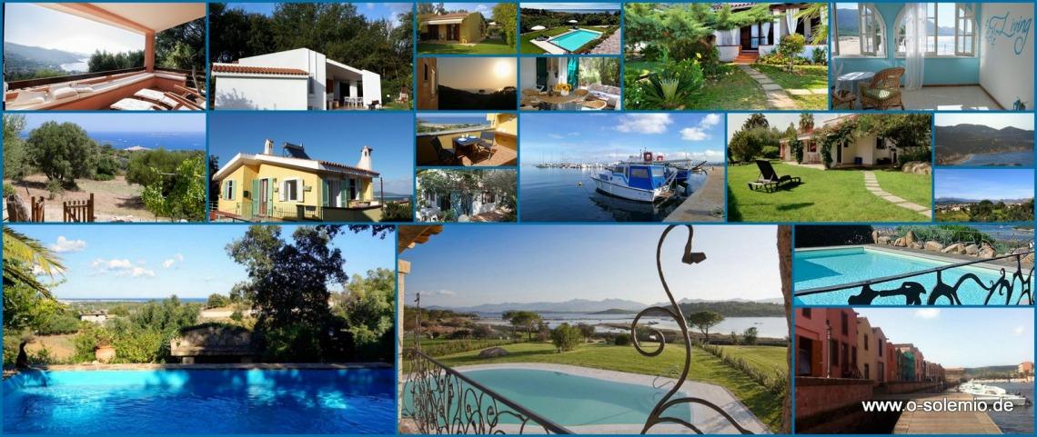 Neue Ferienhäuser auf o-solemio seit 2018