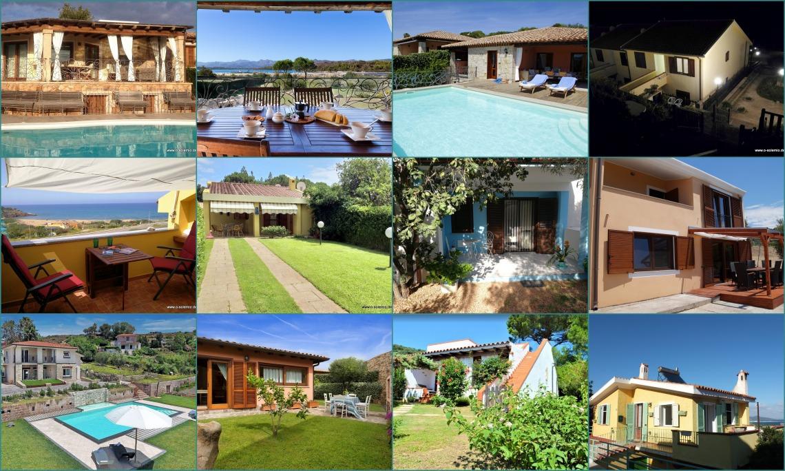 Neue Ferienhäuser bei o-solemio