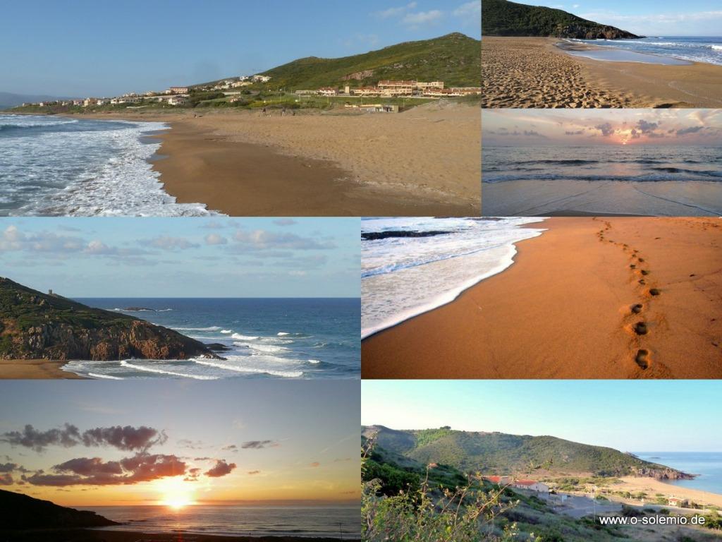 Porto Alabe liegt in der Planagia, nah bei Bosa an der Westküste Sardiniens