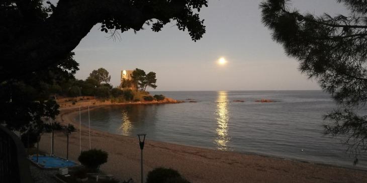 Santa Maria Navarrese am Meer, der Sarazener Turm