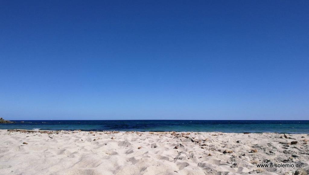 Lido di Orri mit weißem Strand