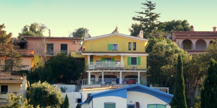 Gästebuch Santa Lucia, Lucia herrlicher Balkon mit Meerblick