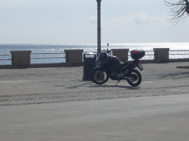 Sardinien_Alghero_Motorrad